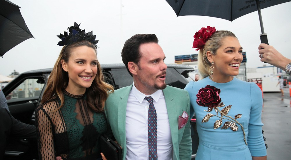 The moody weather stayed well outside as guests in the #SwisseMarquee radiated their own unique sunshine for Oaks Day at Flemington.   Photos:  APL PHOTOGRAPHY www.aplphotography.com.au #aplphotography