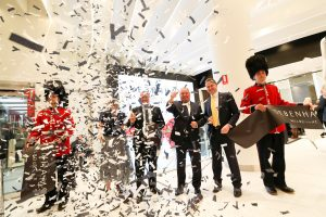 Ribbon Cutting Official Opening Ceremony Debenhams