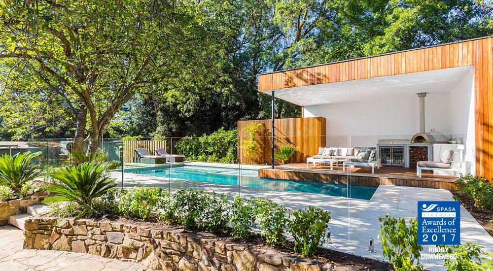 22. HC Best Pool and Landscape Combination - Apex Pools & Spas